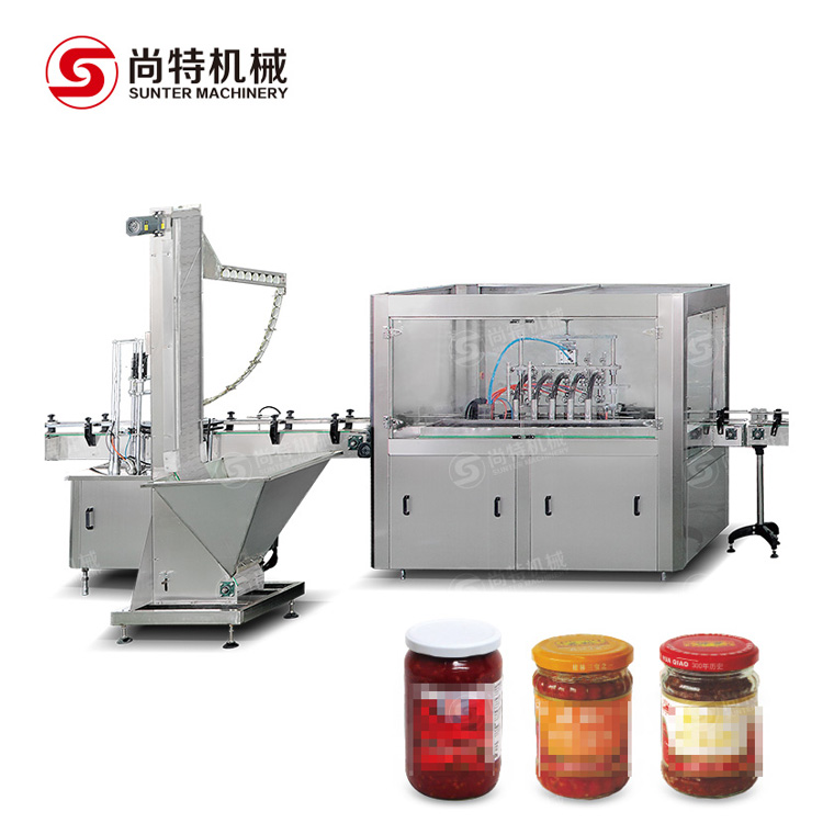 Chili Sauce Filling Machine