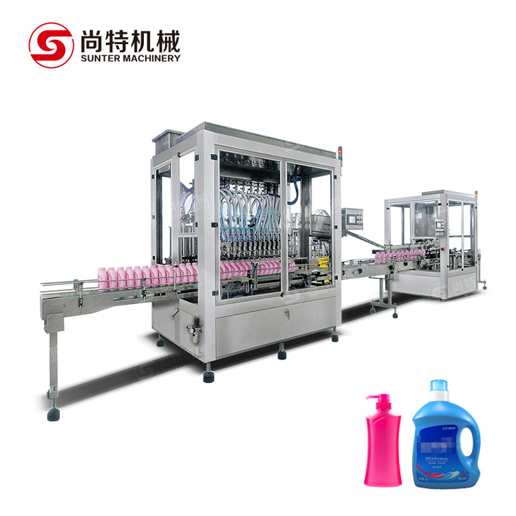 Laundry Detergent Filling Machine