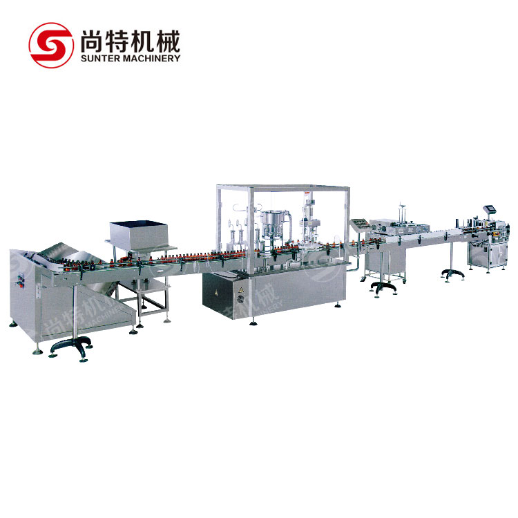 Syrup Oral Liquid Filling Machine