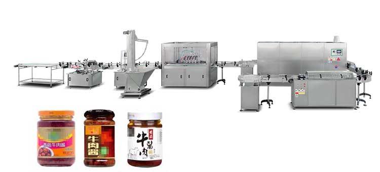 granular thick paste filling machine