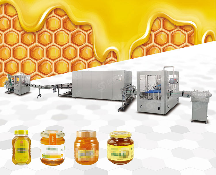 Honey Grapefruit Tea Filling Machine